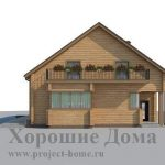 Проект AS-543-3 Дом на двух хозяев