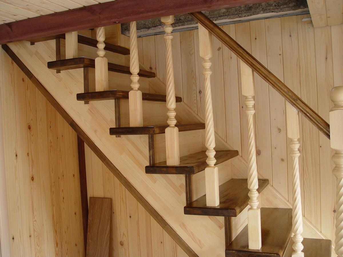 Лестницы для дачи деревянные своими руками