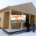 Строительство дома из сип панелей, БалтСипДом
