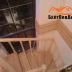 Деревянная лестница на заказ, Калининград