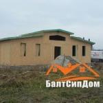 Дом из SIP панелей, БалтСипДом