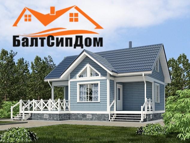 Дом с мансардой, Калининград
