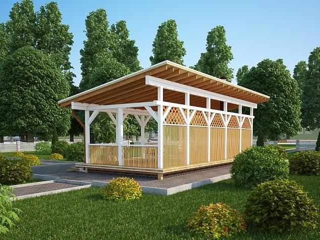 Деревянные беседки Калининград