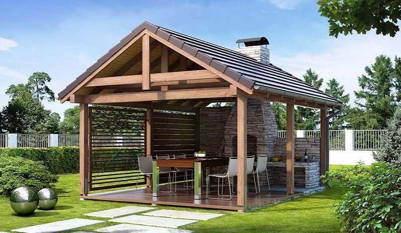 Деревянные беседки на заказ Калининград