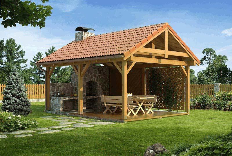 Калининград Деревянные беседки на заказ