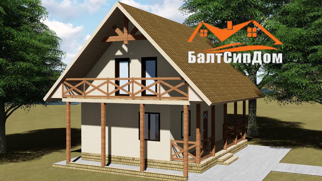 СИП дом - проект