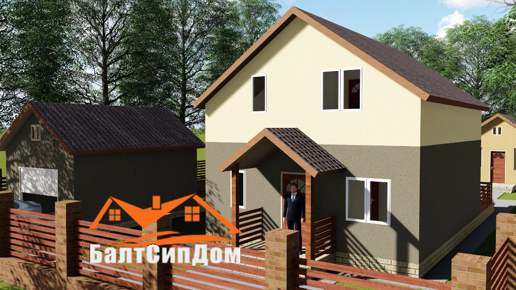 СИП дом- проект