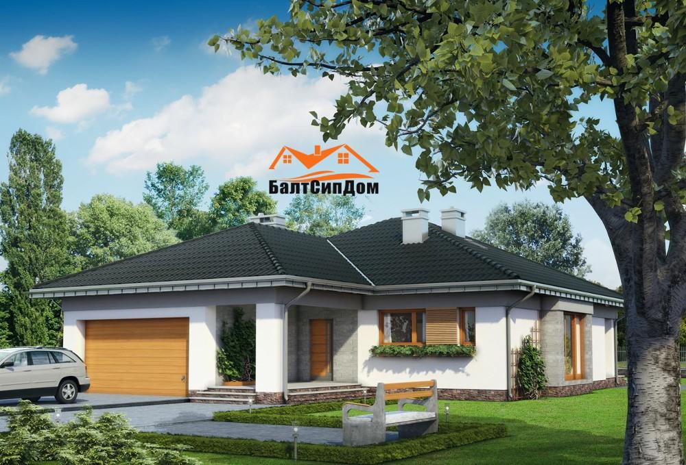 Проект СИП дома