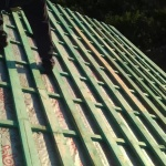 Строительство сип дома Калининград (монтаж крыши)