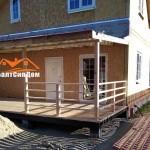 Строительство СИП дома в Калинграде