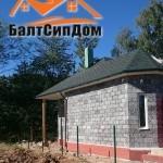 Строительство дома из Евроблока