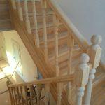 Лестница в дом на заказ в Калинграде