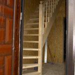 Деревянная лестница Калининград