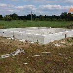 Строительство дома из сип панелей. Фундамент