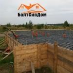 Строительство дома из SIP панелей, БалтСипДом