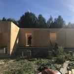 Строительство канадского дома Сип-сипыч